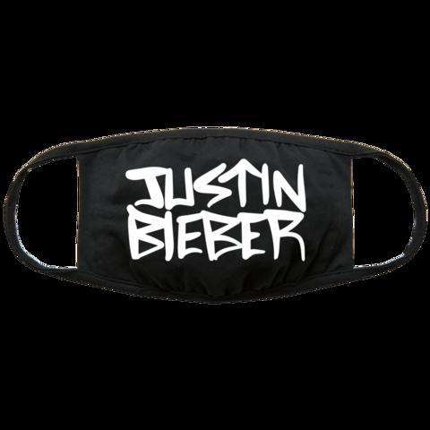 Logo von Justin Bieber - Maske jetzt im Wegotyoucoverednow Shop