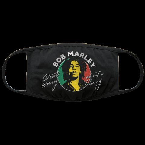 Don't Worry von Bob Marley - Maske jetzt im Wegotyoucoverednow Shop